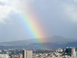 arco iris ciudad mexico