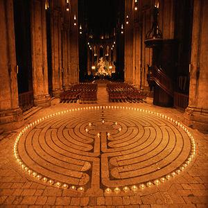 El laberinto. Catedral Chartres