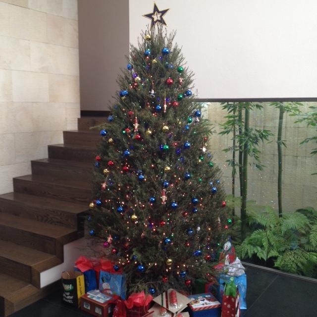 árbol Navida 2014